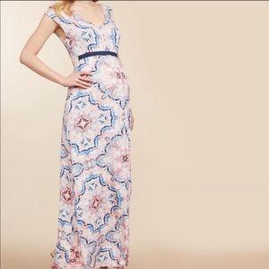 JESSICA SIMPSON Maternity Knit Maxi Dress -Sz M